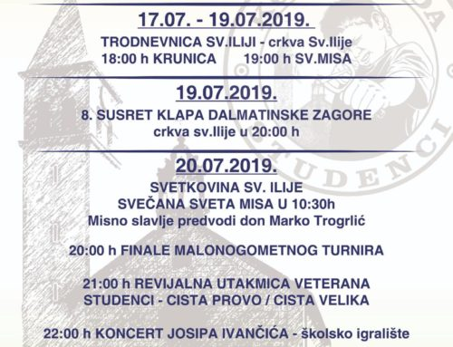 Bogati program za Studenačko lito 2019.