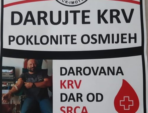 Dobrovoljno darivanje krvi u Općini Lovreć